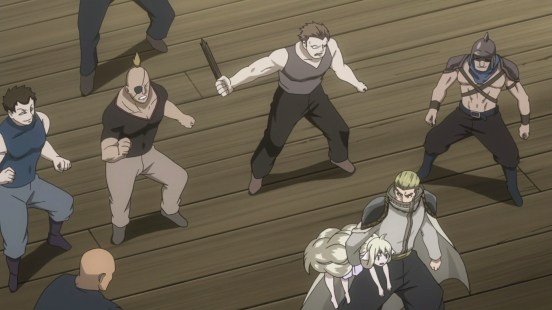 Precht and Mavis fight others
