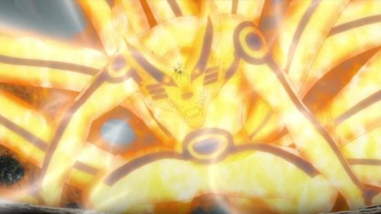 Naruto's Kurama Bijuu Mode