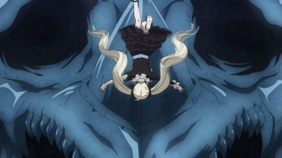 Mavis vs Blue Skull