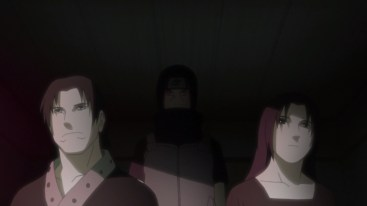 Itachi's mother and father