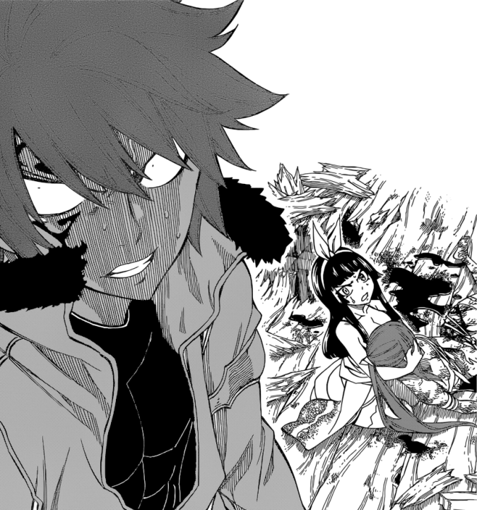 Jellal is pissed off