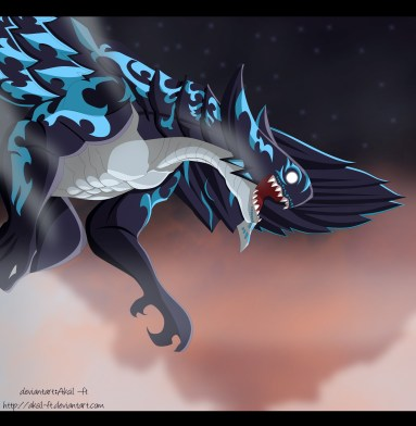 Fairy Tail 486 Acnologia by aksil-ft