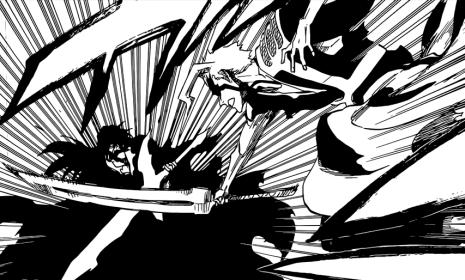 Ichigo fights Yhwach