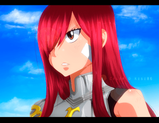 Fairy Tail 494 Erza Scarlet by kisi86