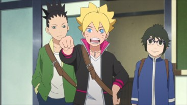 Boruto introduces himself to class
