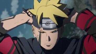 Boruto wears Leaf Headband