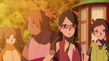 Sarada and Chocho