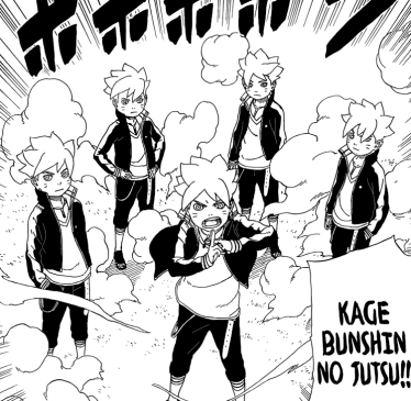 Boruto's Shadow Clone