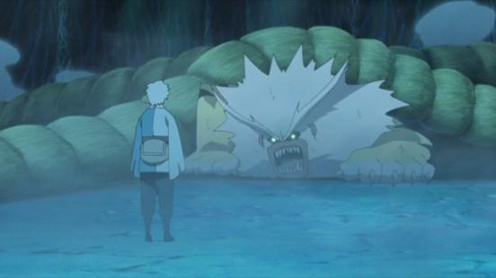 Mitsuki helps trap Nue