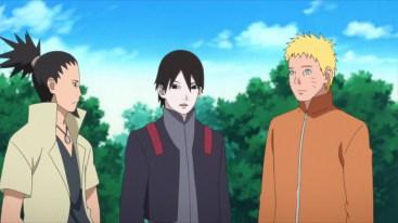 Shikamaru Sai and Naruto
