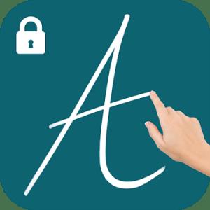 Gesture Lock Screen - Draw Signature & Letter Lock