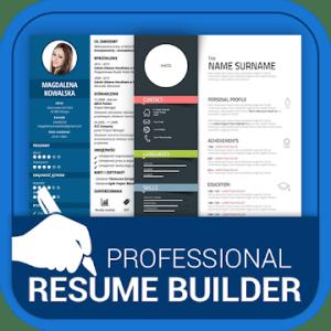 Professional Resume Maker & CV builder-PDF format