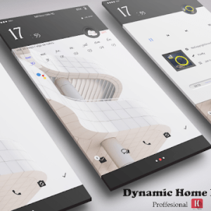 Dynamic Home XIU for Klwp
