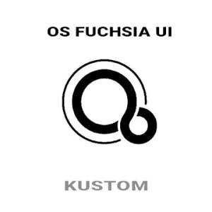 Fuchsia OS UI Kustom Pro/Klwp