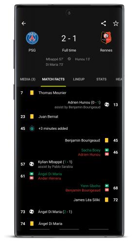 FotMob Pro - Live Soccer Scores v112.0.7768.20200310 [Mod] APK 3