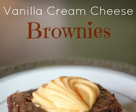 Fall Bake Sale: Vanilla Cream Cheese Brownies 6