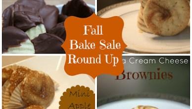 FALL BAKE SALE: RECIPE ROUND UP 4