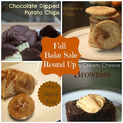 FALL BAKE SALE: RECIPE ROUND UP 3