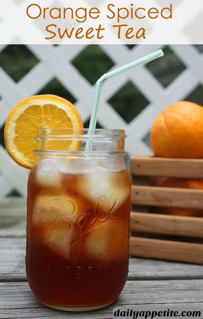 This Fall flavored Spiced Tea recipe is made with fresh oranges, cinnamon and cloves. Sip on this Orange Spiced Tea all Fall and Winter long