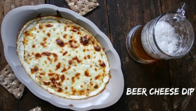 Beer Cheese Dip. A blend of smoked gouda, cream cheese, garlic and of course beer.