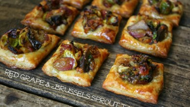 Red Grape & Brussels Sprout Tart 9