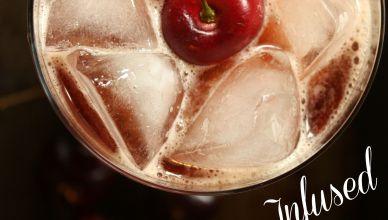 Bourbon Cherry Coke
