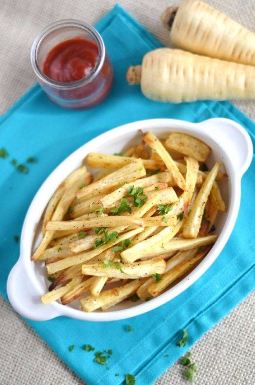 Parsnip Fries plus 60+ Parsnip Recipes