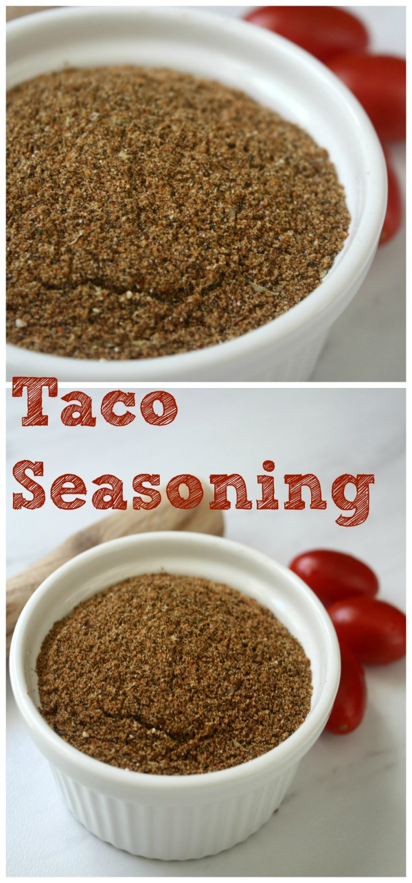 Homemade Taco Seasoning Mix Recipe. We use this seasoning for our Tacos and Burritos.