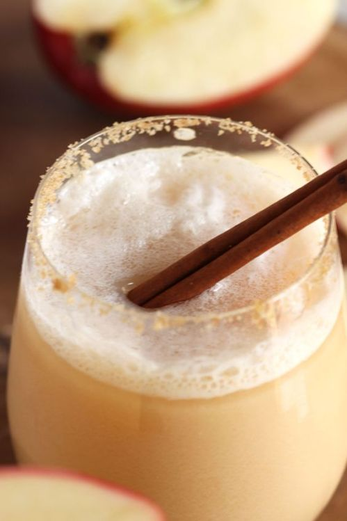 Apple Cider Gin Fizz plus 40 more Gin Cocktails you must make ASAP!