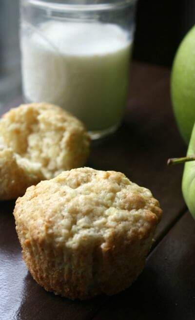 Start your morning off with these warm Apple Muffins. Have one right out of the oven and enjoy with a cup of coffee or tall glass of milk.