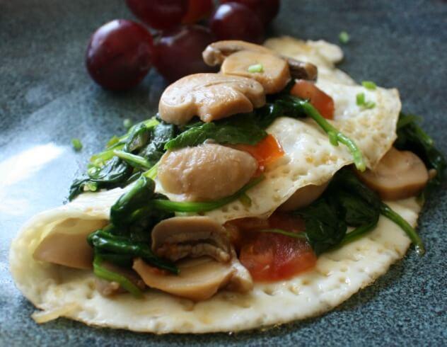 Egg white veggie omelet daily appetite egg white veggie omelet forumfinder Image collections
