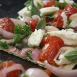 Thin Crust Caprese Pizza