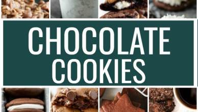 20 Chocolate Cookie Recipes. These are the best chocolate cookie recipes. Soft and chewy chocolate cookies that will make your mouth water!