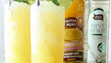 Frozen Passion Fruit Mojito