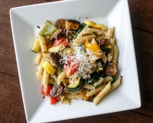 Roasted Vegetable Pasta Salad 1