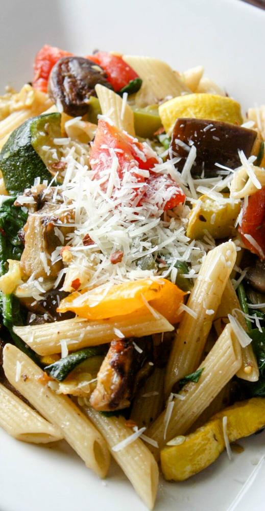 Roasted Vegetable Pasta Salad 2