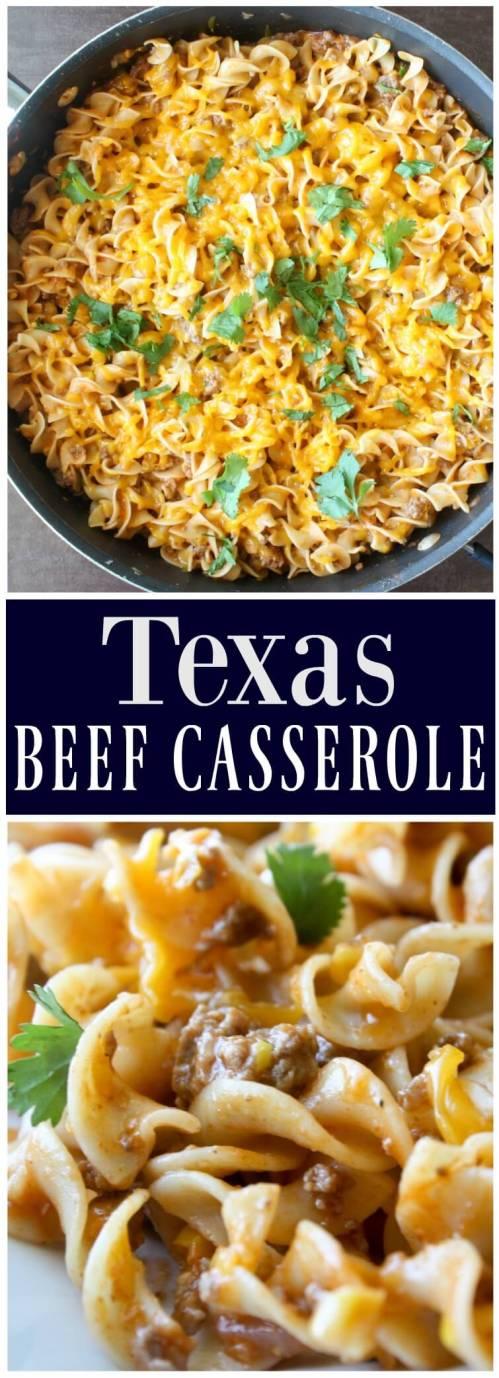 Texas Beef Casserole