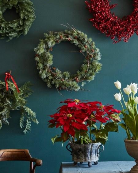 Frozen Pine Wreath