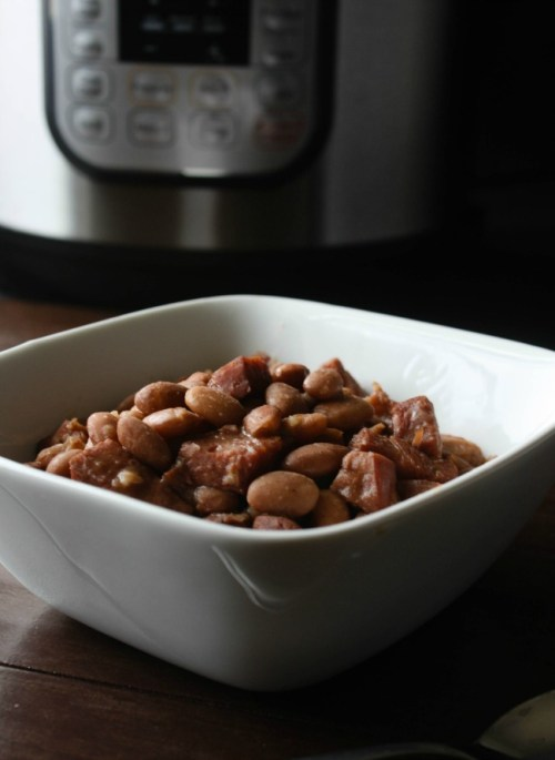 Instant Pot Pinto Beans and Ham - Daily Appetite