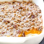 Sweet Potato Souffle with Pecans