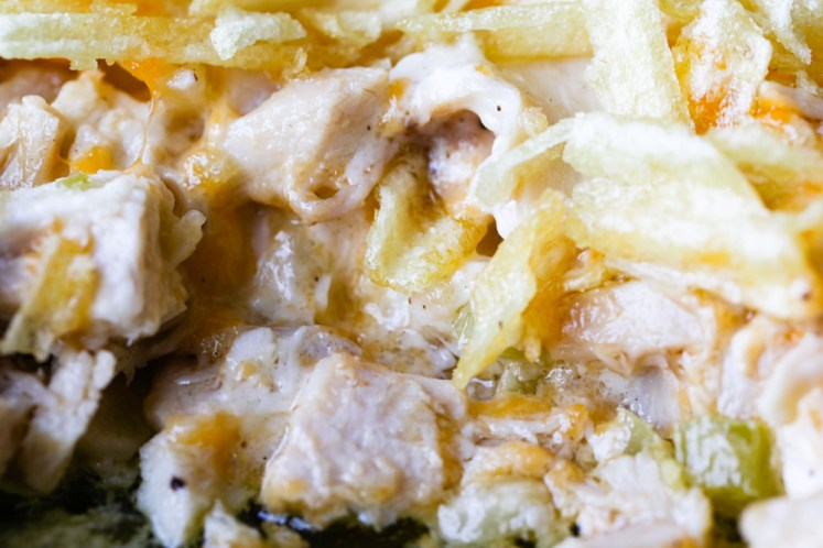 Chicken Potato Chip Casserole