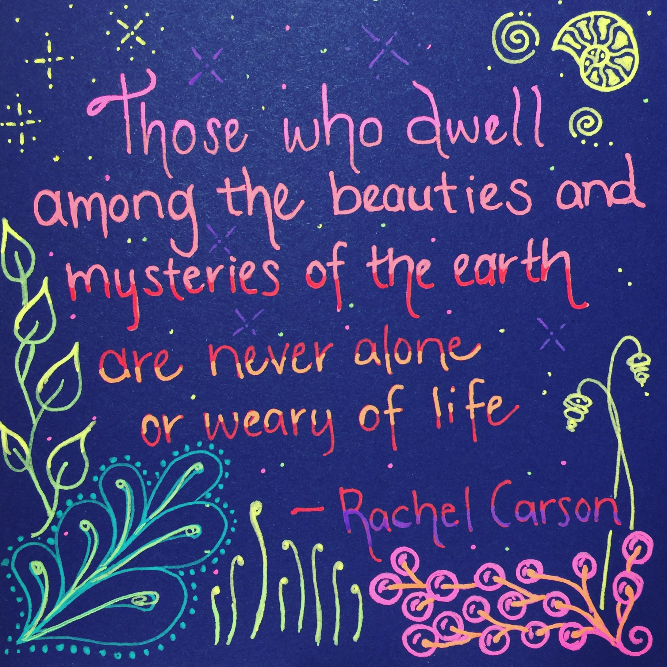 Those who dwell…