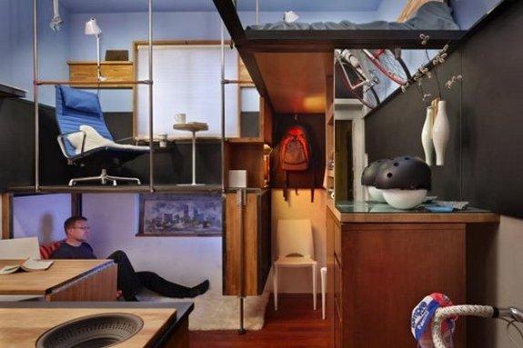 Smallest Apartment Ever 01 In 182 Square Foot Design