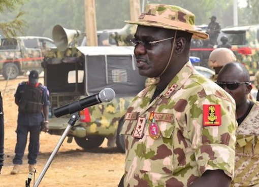 Buratai's Criticism of Soldiers' War Efforts
