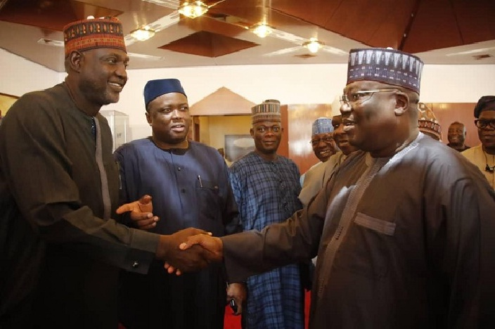 The President of the Senate, Dr Ahmad Lawan