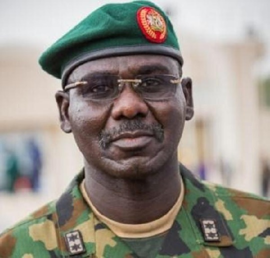 he Chief of Army Staff (COAS), Lt. General Tukur Yusufu Buratai