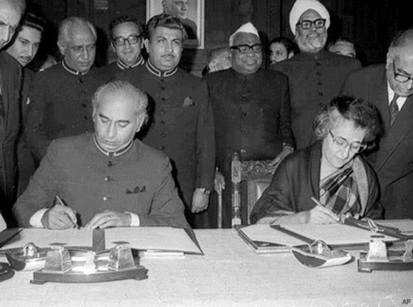 1972-following-pakistans-surrender-to-india-in-the-indo-pakistani-war-of-1971-both-nations-sign-the-historic-bilateral-simla-agreement-agreeing-to-settle-their-disputes-peacefully
