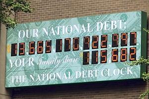 Debt clock