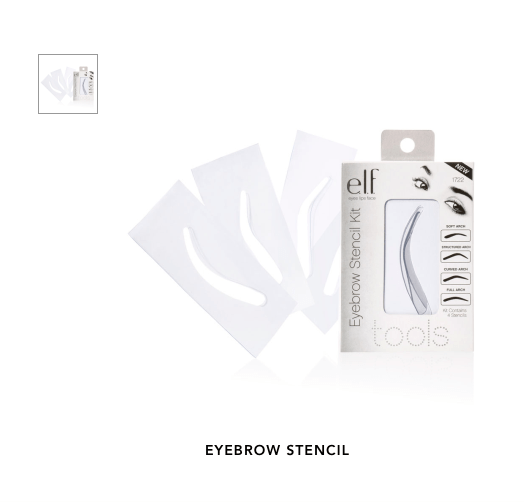 E.L.F. Essentials Eyebrow Stencils (photo from E.L.F website)