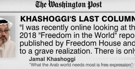 There's much more to the Khashoggi story
